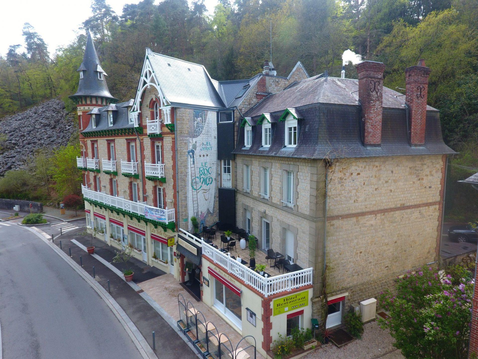 vue principale de l'hotel